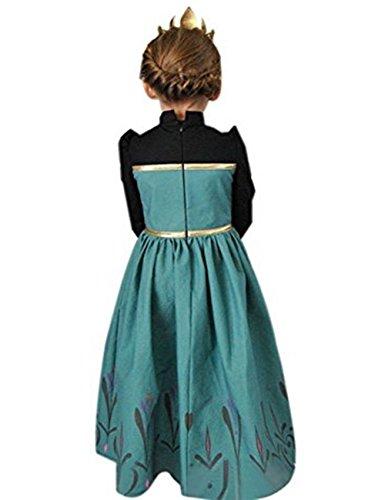 Imagen de ninimour disfraz vesitdo de princesa hielo para las niñas 130, ana#1  alternativa