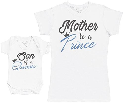 Son of A Queen, Mother To A Prince - Regalo para Madres y bebés en un