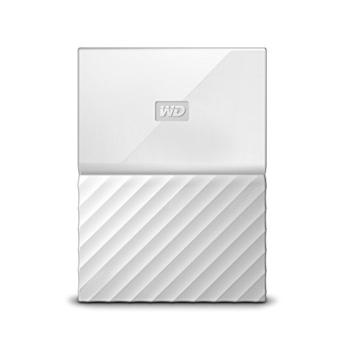 Preisvergleich Produktbild WD My Passport 3TB Portable Hard Drive and Auto Backup Software for PC,  Xbox One and PlayStation 4 - White
