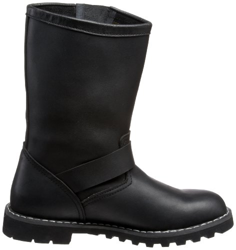 ENGINEER BOOT Blk Leather