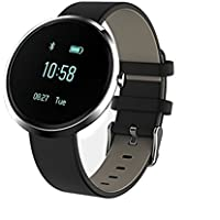 Fitness Tracker Watch, Stoga Bluetooth Watch Monitor della frequenza cardiaca Rilevazione di allergie da alcol Tracker sportivo Sleeping Blood Pressure Call Alarm