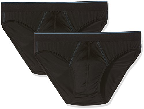 Sloggi Men 24/7 Microfibre H Mini C2P, Slip Homme, Noir (Noir), XX-Large (Taille Fabricant:EU: 8/FR: 6) (lot de 2)