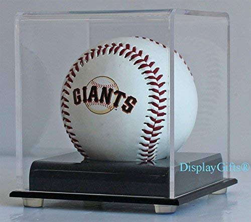 Baseball Display Case Holder Stand, Ultra Clear Pro UV (1-Ball Stand)