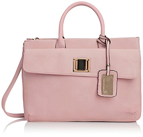 Swankyswans Elle PU Leather Business, Damen Laptop-Tasche (Zara City Bag)