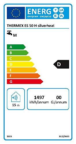 Heisswasserspeicher Thermex ES50H Horizontal 50 Liter 1500 W Boiler Warmwasserspeicher