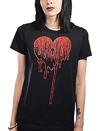 Akumu ink t-shirt bLEEDING hEART