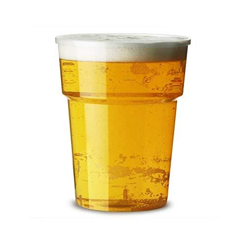 1000 X 20oz Komplettes Pint Flexi Kunststoff Becher mit Ce Markierungen - Biergläser Trinkgläser