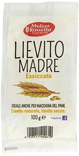 Molino Rossetto Lievito Madre Essicc - 10 pezzi da 100 g [1 kg]