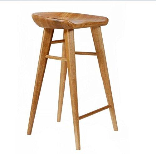 Retrò sedie in legno massiccio sgabello da