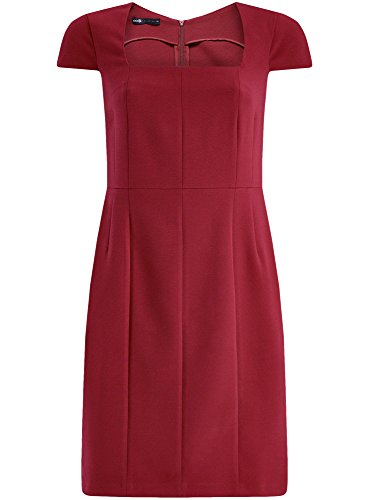 oodji-collection-femme-robe-etui-a-encolure-carree-en-tissu-epais-rouge-fr-44-xl