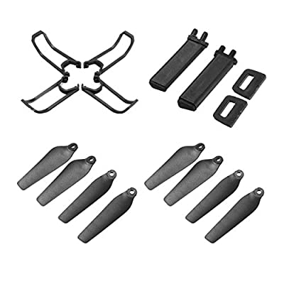 EACHINE E58 Accessory Set (4Pcs of Protection and 8 Pcs of Propellers and 2 Pcs of Landing)