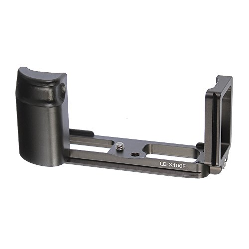 QR Vertikal L Bracket Hand Griff Halterung für Fuji Fujifilm x100F Kamera Zubehör Passform Arca Swiss Stativ Kopf -