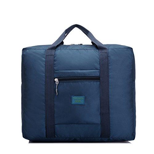 Wasserdichte faltbare Taschen Bulk bewegen Gepäcktasche Blue