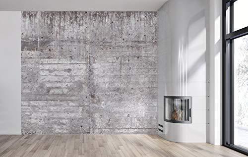AM Wohnideen - Carta da Parati Fotografica, Effetto Cemento/Muro/Pietra