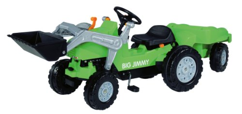 *BIG 800056525 – Jimmy-Loader + Trailer Kindertraktor*