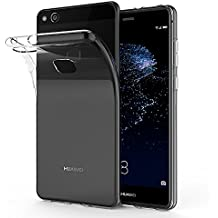 Carcasa Huawei P10 Lite, SPARIN Huawei P10 Lite Funda, TPU Transparente Funda, [Flexibilidad] Carcasa, Funda de Silicona, Espalda Protección Carcasa P10 Lite 2017