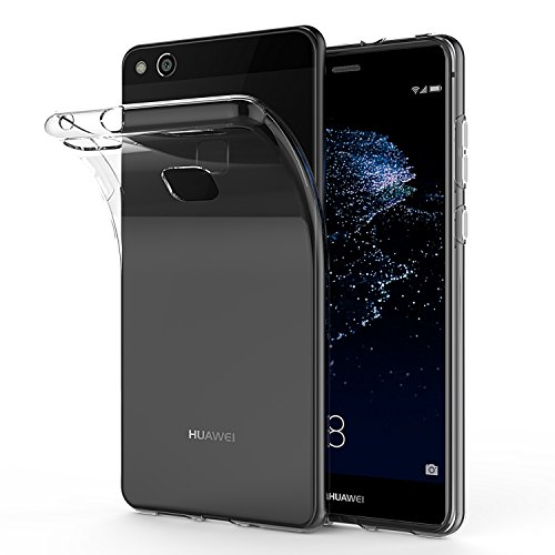 Carcasa Huawei P10 Lite, SPARIN Huawei P10 Lite Funda, TPU Transparente Funda, [Flexibilidad] Carcasa, Funda de Silicona, Espalda Protección Carcasa P10 Lite 2017 - Pack con 2 unidades