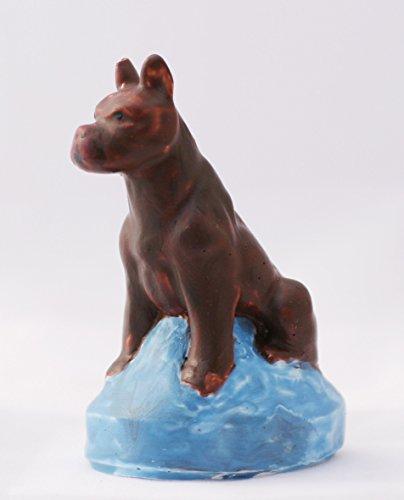 Latexgiessform Hund Boxer ca. 75mm Gießform aus Latex (Boxer Engel)