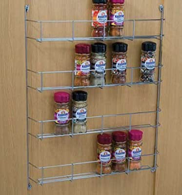 ASHLEY 4-Tier Spice Rack, Silver by ASHLEY