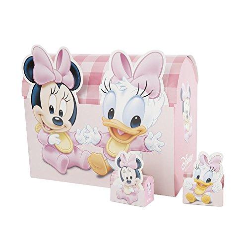 Carbomboniere car bomboniere walt disney babies astuccio portaconfetti, carta cartone, multicolore, 47x49x12 cm, 160 unità