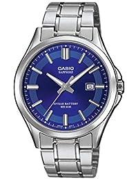 4e646825e3c5 CASIO Reloj Analógico para Hombre de Cuarzo con Correa en Acero Inoxidable  MTS-100D-