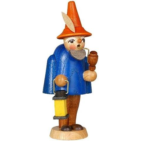 Altezza blu di Gnome del contenitore per esposizione 9,5 montagne del minerale metallifero di Natale di Seiffen di caso di lettera di cm NUOVE