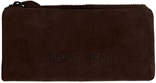 Brown Bear Geldbörse Damen Leder vintage Indian Summer 15.2 br