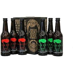 Six Pack Albero | La primera cerveza artesana de Sevilla | Doble Malta 7% Alc. y IPA 6,9% Alc.