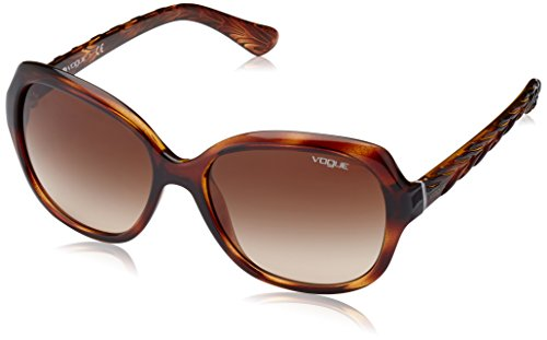 Vogue 0vo2871s 150813 56, occhiali da sole donna, marrone (havana/brown gradient)