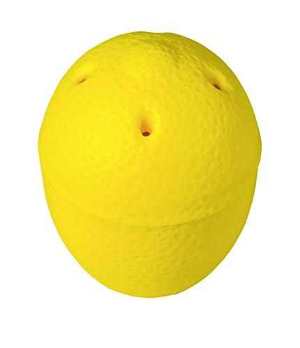 Wenko 85001500 Fruit mouches Piège 2 pièces Capacité 0,1 l, Polypropylène, jaune, 8 x 8 cm