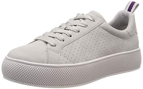 ESPRIT Damen Babika LU Sneaker Grau (Light Grey 040) 37 EU