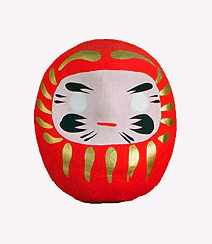 Amuleto de la suerte Daruma de Japón, rojo - suerte para todo