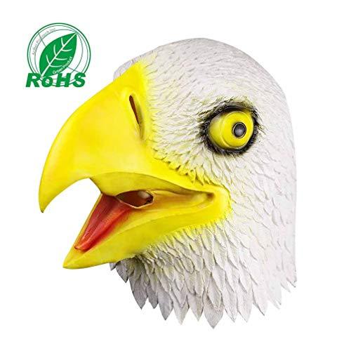 Kontakt Kostüm Himmel - KTSKT Latex Maske Eagle Head Kostüme Und Dekoration Oder Halloween Weihnachten Cosplay Maske Eagle Animal Shell.