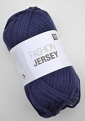 Rico Fashion Jersey FB. 011–Bleu Marine, jersey Ruban Fil, été