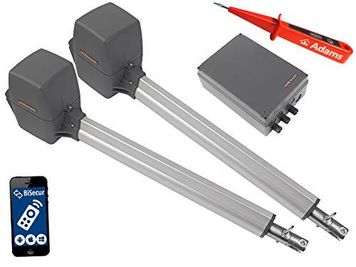 Pl2 Serie (Hörmann, Rotamatic PL2 BiSecur Serie 3 - Drehtorantrieb (2-flüglig) mit WLAN Set 3in1A)