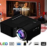SLB Works Brand New 3800Lumens 1080P HD LED Projector Home Cinema Theater Multimedia USB TV AV HDMI