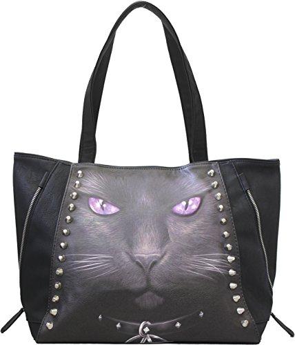 Spiral Direct Schwarz Cat Handbag