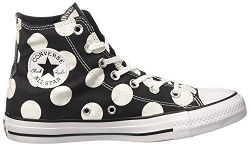 Converse Damen 556814c Sneakers Schwarz (Black/white/white)