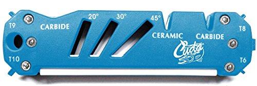 Cuda Schärfer für Messer, Scheren, Angelhaken, Ceramic, Carbide, 4 Torxschraubendreher, 1 Flachschraubendreher