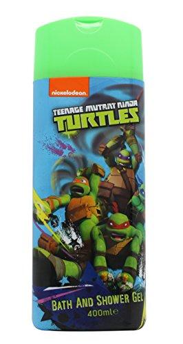 Ninja Turtles - Gel de Baño Tortugas Ninja 400 ml 3 años - 42019 - K14000