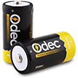 Odec C Rechargeable Batteries, 2-Pack Deep Cycle 5000mAh NiMH Battery Pack