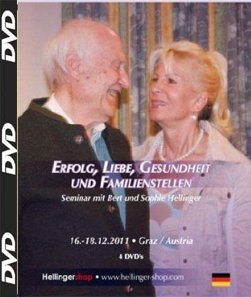 Erfolg, Liebe, Gesundheit und Familienstellen, 4 DVD , Seminar mit Bert und Sophie Hellinger -