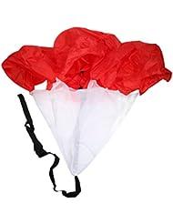 Parachute de Course Speed Running Football Training Résistance Formation Vitesse Umbrella Courir Chute Rouge