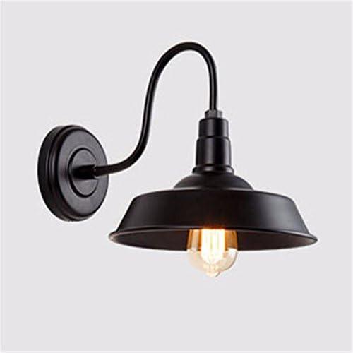 YU-K Vintage lampada industriali da parete industriali lampada ferro battuto lampada da parete perfetto per bar ristorante cafe soggiorno camera da letto corridoio balcone, 36cm, 14inch, D 10cbd7