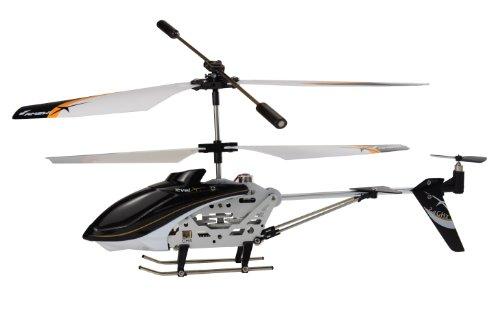 Amewi 25071 - modellino radiocomandato di elicottero, 3 canali, level x, 2,4 ghz, gyro rtf