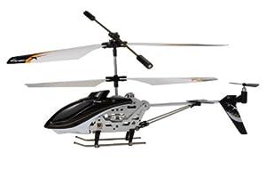 Amewi 25071 Level X - Helicóptero teledirigido (frecuencia de 2,4GHz, 3 Canales, giroscopio, tamaño pequeño, Listo para su Uso)