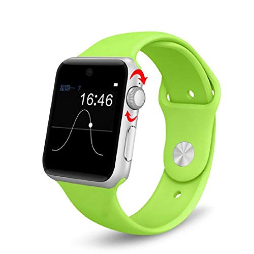LH-lemfo lf07 Bluetooth rt Watch 2 5d Bogen hd Screen unterstuetzung SIM Karte tragbare geraete rtwatch Fuer ios Android:Arm Green - Green-screen-geräte