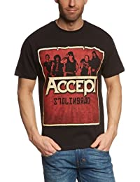 Warner Music Shirts Unisex - Erwachsene T-Shirt 727361993870/ Accept Stalingrad