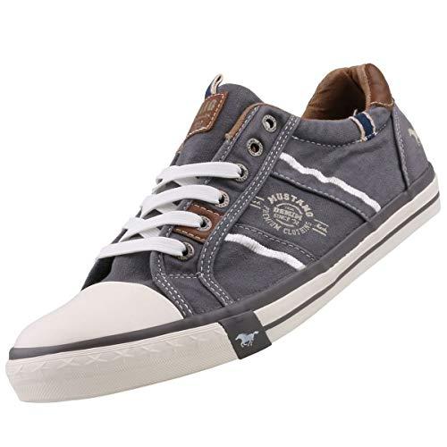Mustang Herren 4072-307-2 Sneaker, (Grau 2), 45 EU