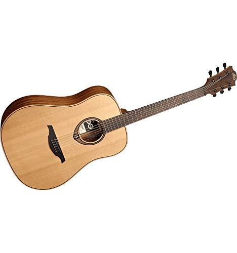 Lag t170d Tramontana Dreadnought Red Cedar–Khaya–Guitarra acústica